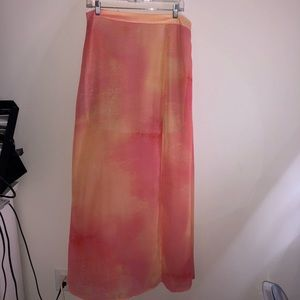 Pink Lush Maxi Skirt
